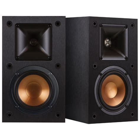 klipsch reference r14m 200 watt bookshelf rear speaker