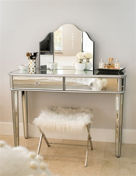 Mirror Vanity by Bedroom Reveal Fancy Things