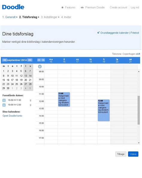 doodle meeting organiser nem og brugbar meeting planner doodle