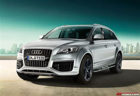 Neuer Audi Q7 2014 by Official 2014 Audi Q7 S Line Style Edition And Sport