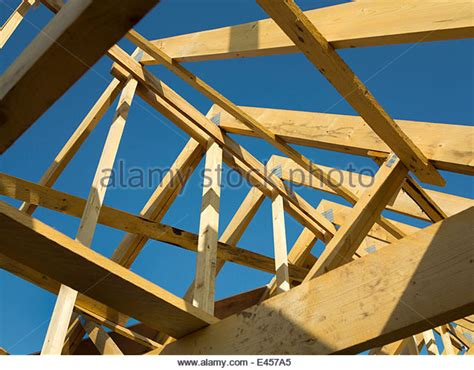prefabricated roof trusses prefabricated roof trusses stock photos prefabricated