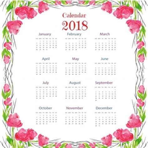 2017 calendar template vector free