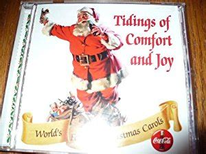 tidings of comfort and joy song rich dixon coca cola presents tidings of comfort and joy