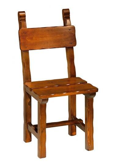 sedie rustiche sedie rustiche sedia rustica smussata arredamenti rustici