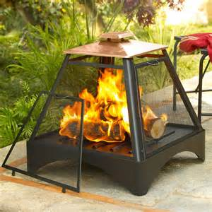 Copper Outdoor Fireplace Pagoda Fireplace With Copper Roof Fireplaces Chimineas