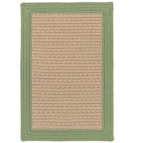 8 ft outdoor rug hton bay tropical blossom green 8 ft x 10 ft indoor outdoor area rug 312294552403051 the