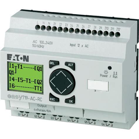 plc controller eaton easy 719 ac rc 274115 115 vac 230
