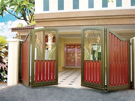modern homes entrance gate designs home decorating
