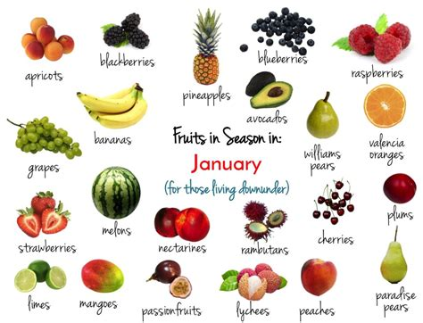 fruit in season january fruits vegetables in season this january the seasonal