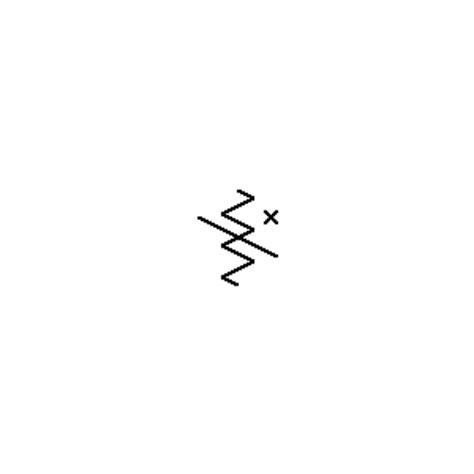 resistor symbol ansi resistor schematic symbol clipart best