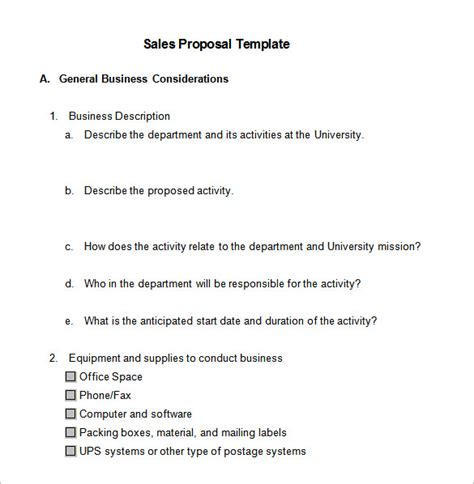 sales proposal templates 18 free word excel pdf ppt