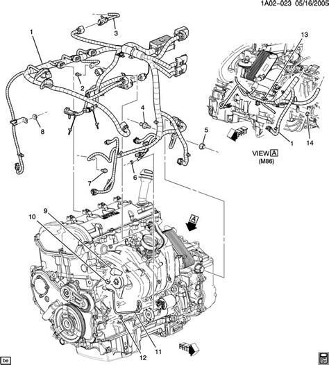 online service manuals 2009 chevrolet cobalt transmission control chevy 2 2l engine wire harness diagram chevy get free image about wiring diagram