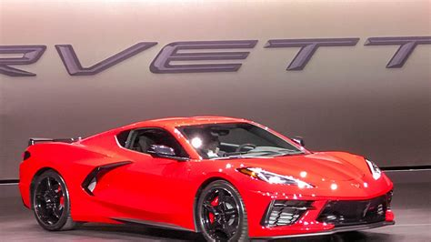 2020 Chevrolet Corvette by 2020 Chevrolet Corvette Stingray Arrives With Mid Engine