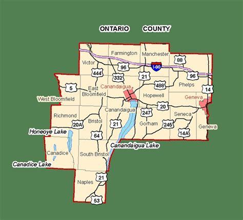 Ontario Canada Property Tax Records County Map Ontario