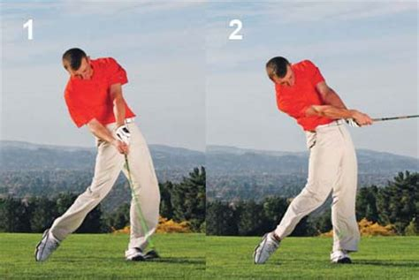 golf swing left knee action my daily swing the modern total body golf swing downswing