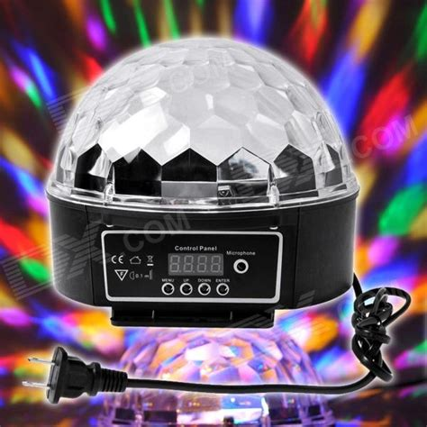 xl 10 voice remote control crystal ball disco dj stage