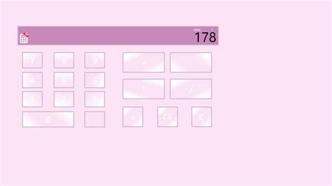 windows 8 themes girly girly simple calculator download