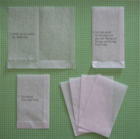 Make Your Own Paper Bags - ginderellas tutorial make your own waxed paper bags