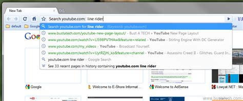 chrome quick search google chrome quick search bust a tech