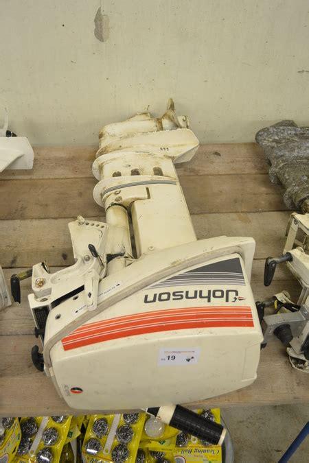 buitenboordmotor johnson buitenboordmotor johnson 15 pk 2 takt lang