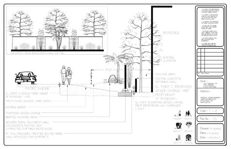 landscape detail drawings 28 images landscape design