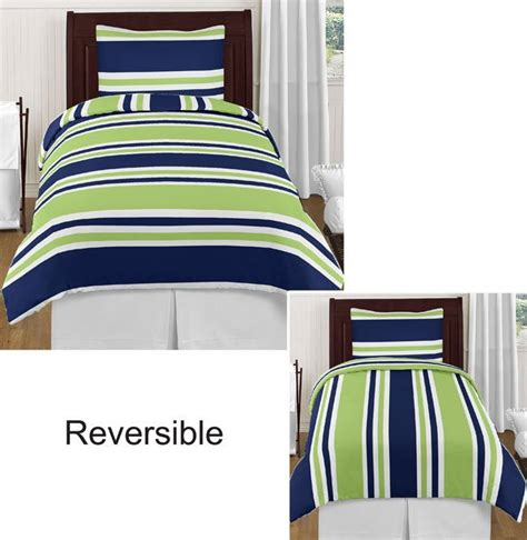 navy blue and lime green bedroom navy blue lime green white stripes twin boy bedding