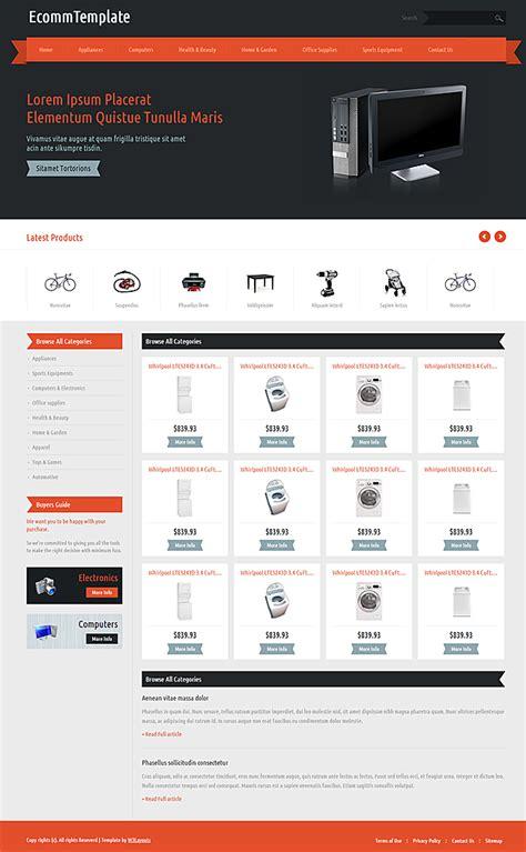layout toko komputer 7 template responsive keren gratis untuk website toko