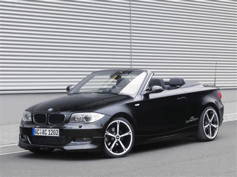 Bmw 1er Coupe Cabrio by 2008 Ac Schnitzer Bmw 1 Series Convertible Front And