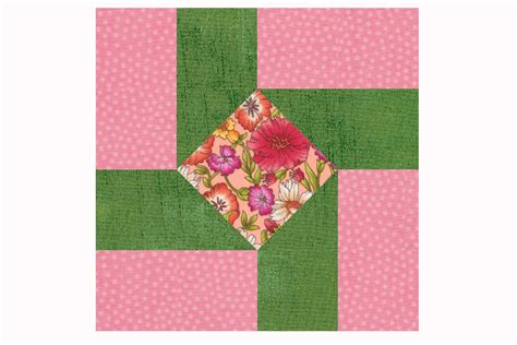 Easy Patchwork Quilt Pattern by Susannah An Easy Patchwork Quilt Block Pattern
