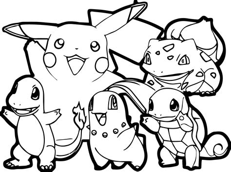 coloring pages for pokemon characters pokemon coloring pages got coloring pages