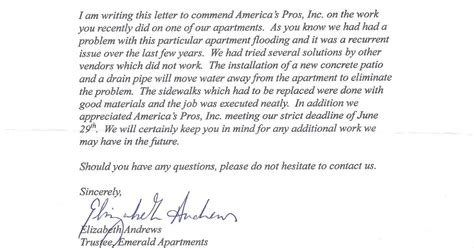 Sle Dispute Letter To Apartment Complex Apartment Patio Letter 28 Images Testimonials Hotels Apartment Communities Eco Friendly 9