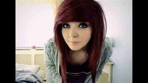 imagenes de peinados tipo emo peinados de emos para mujer youtube