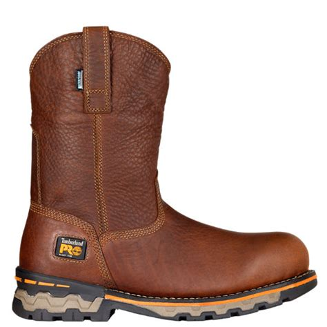 timberland slip on work boots s timberland pro 174 ag alloy toe pull on work boots