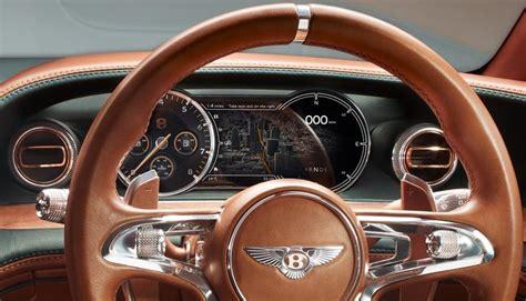 bentley exp 10 interior bentley exp 10 speed 6 interior instrument cluster