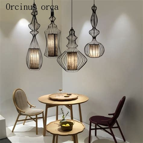 birdcage  chinese chandelier cafe retro living room