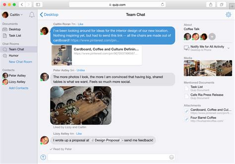 chat rooms salesforce buys word processing app quip for 582 million
