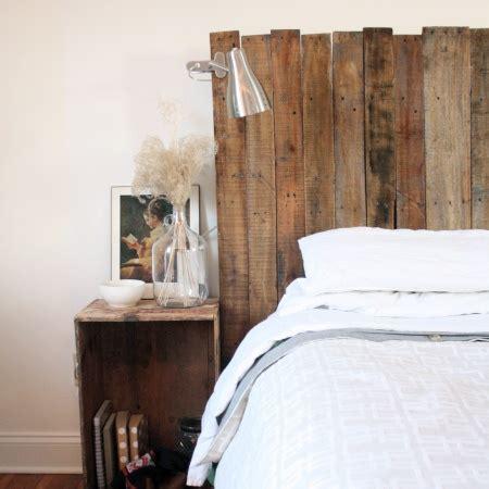 Wood Pallet Headboards by Pallet Wood Headboard Projects