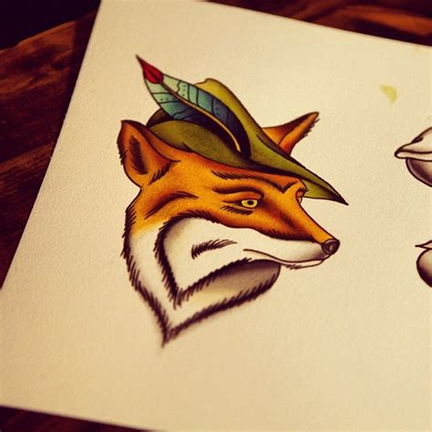 robin hood tattoo designs 138 best images about foxes fox tattoos on