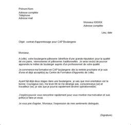 exemple de lettre de motivation pour un apprentissage