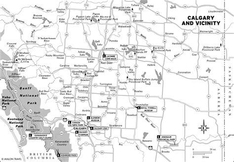 printable map alberta printable travel maps of alberta moon travel guides