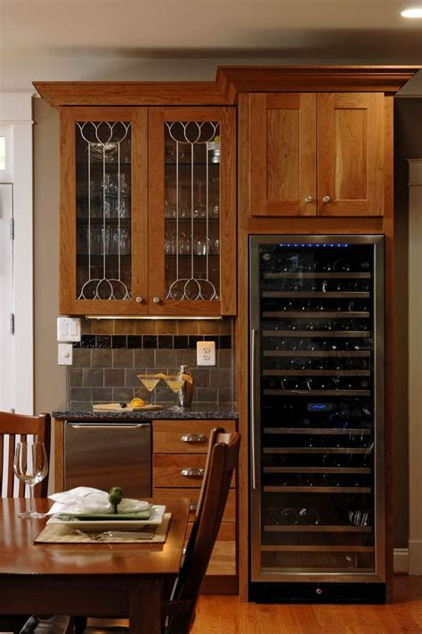built in bar built ins and wine fridge on pinterest built in wine fridge fancy schmancy home stuff pinterest