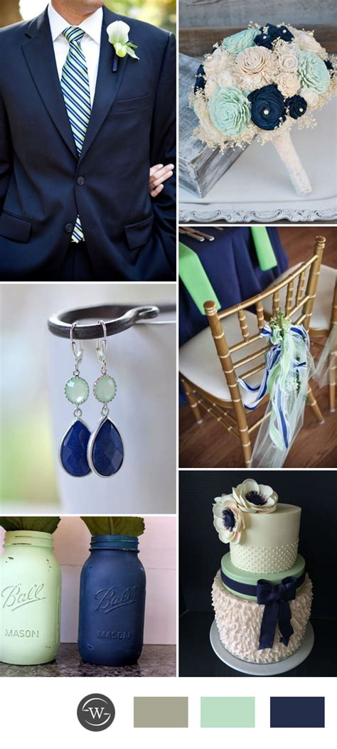 stunning navy blue wedding color combo ideas for 2017 trends stylish wedd