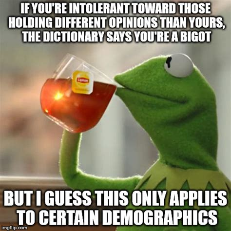 Different Meme - one day people might learn that moral superiority does not
