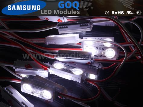 Lu Led Samsung Goq lumines goq samsung led modul 5630x2 150 176 ip68 7500k 5 201 v 193 r 299 ft led modul