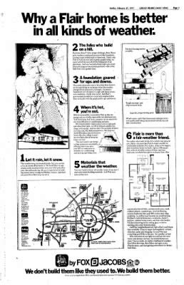 fox and jacobs floor plans grand prairie daily news from grand prairie texas 183 page 38