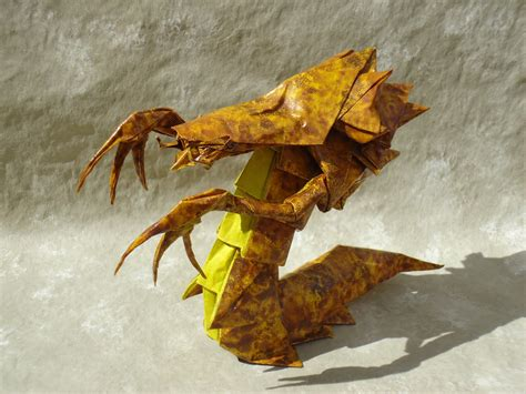 Origami Hydralisk - videogame origami part 4 wow and starcraft