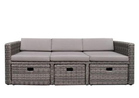 Lounge Sofa Outdoor Polyrattan by Loungem 246 Bel Outdoor Rattan Rheumri