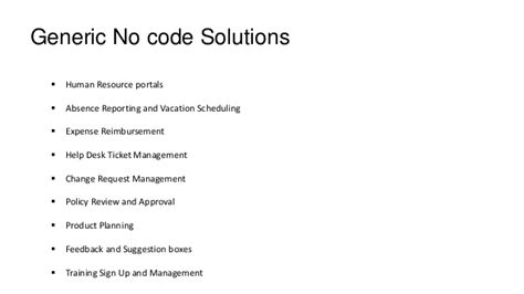 coding solution 6 no code solutions for office 365
