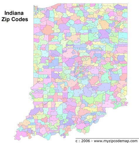zip code maps com indiana zip code maps free indiana zip code maps
