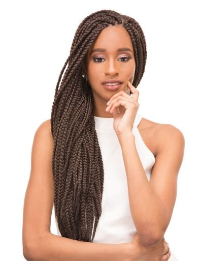 a picture of a pack of kanekolon extra long hair janet collection jumbo braid kanekalon